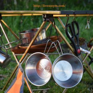 電車キャンプで実際に持っていくキャンプ道具です