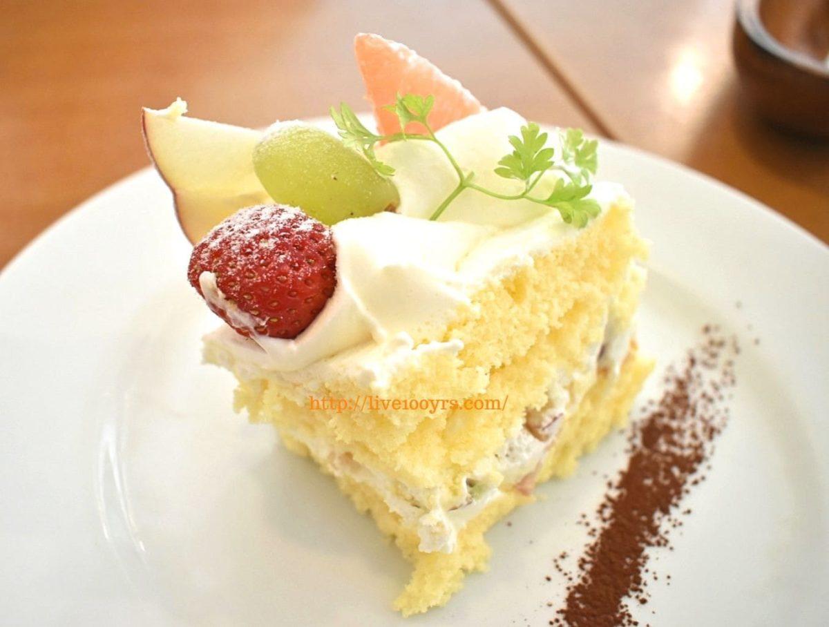 北本市イタリアンレストランアドマーニの季節のショートケーキ