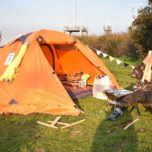 ソレイユの丘で3泊4日の母子キャンプ