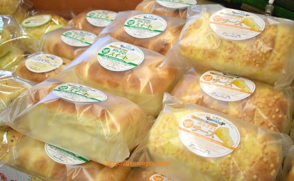 ソレイユの丘のマルシェで購入できるパン