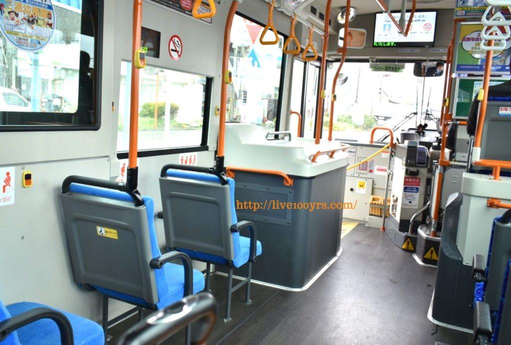 ソレイユの丘へ行くバス