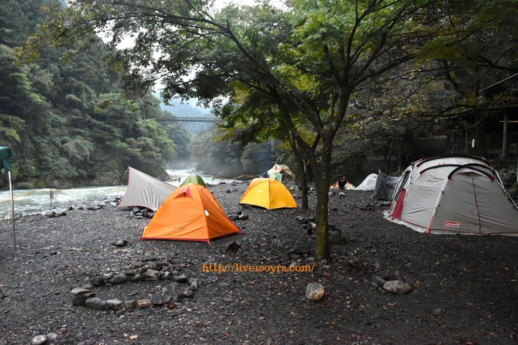 10月の氷川キャンプ場