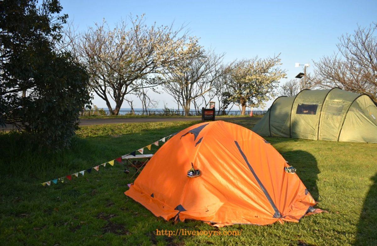 ソレイユの丘オートキャンプ場の朝