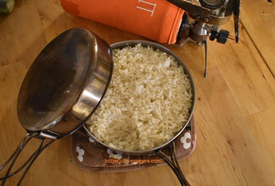 おうちキャンプでキャンプの調理器具を使おう