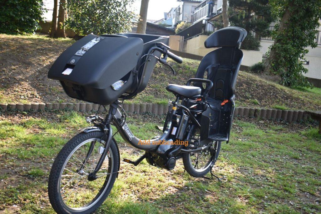 ヤマハの子供乗せ電動アシスト自転車PAS Kiss mini2019年モデル