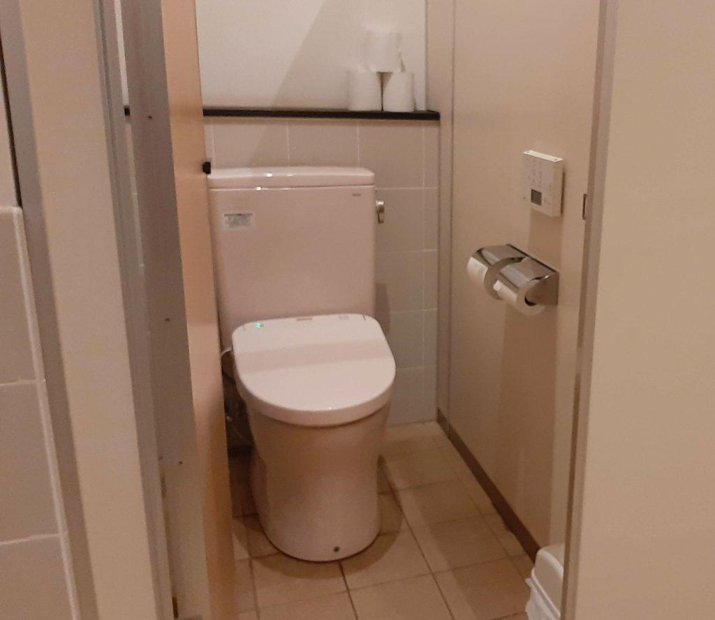清水公園キャンプ場のトイレ