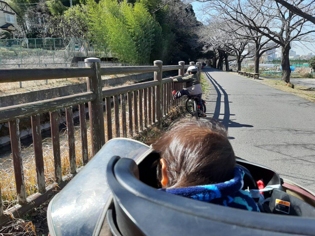 2021年梅と河津桜のお花見へサイクリングスタートです