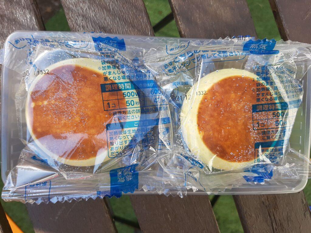 井村屋のホットケーキまんの内包装